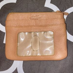 Buxton Genuine Leather Credit Card Holder